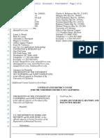 Regents of the University of California Et Al v. Dept of Homeland Security Et Al