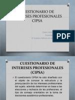 CUESTIONARIO DE INTERESES PROFESIONALES  (CIPSA).pptx