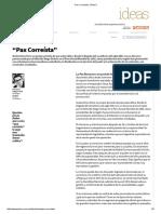 """""""Pax Correísta"""" _ Plan V"""