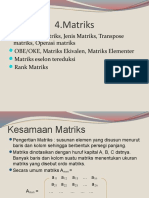4. Matriks, By 20 Juli 2014