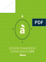 Estados Financieros - 2016