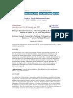 Sobre+las+20+tesis+de+Dussel+Utopìa+y+Praxis+Latinoamericana
