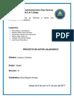 Trabajo de Autor Jalapaneco