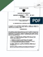 http---www.aerocivil.gov.co-normatividad-Decretos Normatividad Institucional-Decreto 1601  2011  Consejo Directivo.pdf