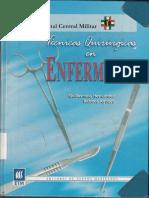 Técnicas Quirúrgicas en Enfermería. Guillermina Hernandez PDF
