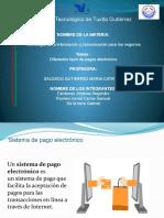 Expo de Los Tipos de Pago Electronico