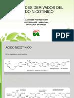Alcaloides Derivados Del Acido Nicotínico
