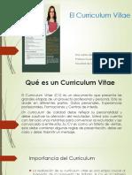 Presentación Curriculum
