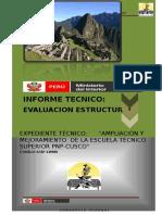 Informe de Evaluacion Estructural