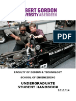 Undergrad Student Handbook 2103-14