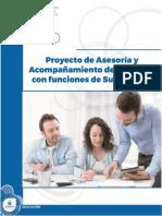 Curso. Proyecto de Asesoría y Acompañamiento FINAL Nueva Versión 4 de septiembre de 2017