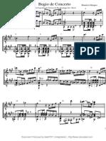 Bugio de Concerto Grade