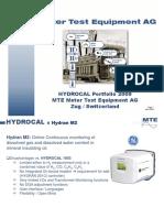MTE HydrocalL vs GE Hydran
