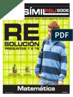 2007 Demre 09 Resolucion Matematica Parte1