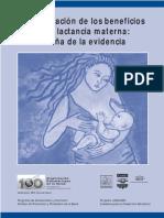 Cuantificación de Beneficios de La Lactancia Materna