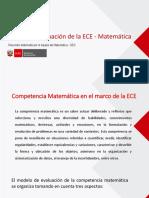 Marco de evaluación de la ECE - Matemática - vf.pptx