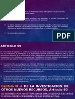 Articulo 58 bioetica