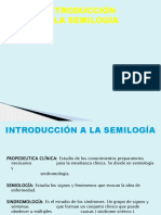 Introduccion a La Semiologia