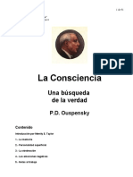 Ouspensky PD - La Conciencia