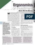 ergonomics return on investment article
