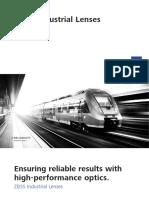 Brochure Zeiss Industrial Lenses