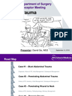 Surgical Trauma Presentation