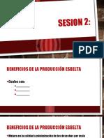 Producción Esbelta Jorge Baños 2017 2 Sesion 2 Sem 1