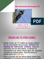 Curso Telecom III - TxDx Por CATV 2014