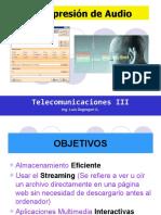 Curso Telecom III - Compresion-De-Audio 2014