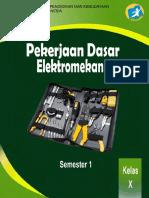 Kelas 10 SMK Pekerjaan Dasar Elektromekanik