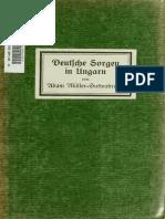 Deutsche Sorgen in Ungarn - Studien Und Bekenntnisse