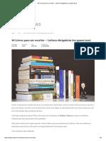 44 Livros Para Ser Escritor - Leitura Obrigatória (Ou Quase Isso)