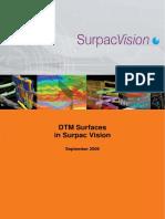 Dtm Surfaces