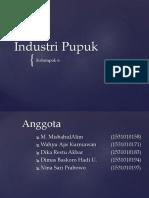 Industri Pupuk