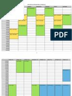 Fantasticks Schedule