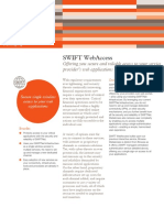 Swift Messaging Factsheet Swift Webaccess End Customers