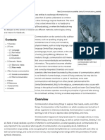 Communication - New World Encyclopedia