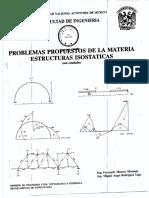 Problemas Propuestos de La Materia Estructuras Isostáticas