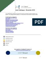 Swift Training Swiftsmart Full Training Catalogue December 2016