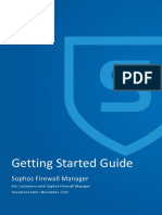 Sophos Firewall Manager - Getting Started Guide