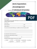 academic acknowledgement  level 2 2015  1