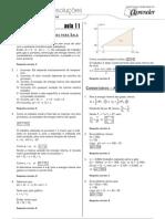 Física - Caderno de Resoluções - Apostila Volume 3 - Pré-Universitário - Física1 - Aula11