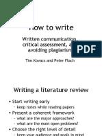 HowToResearch-WrittenCommunication