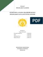 Paper_Analisis Transportasi Dan Pengolahan Gas Alam Dari 10 Sumur