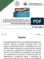 Acercamiento Decreto Nacional Dia Contra Homofobia