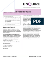Education and Disability Rights