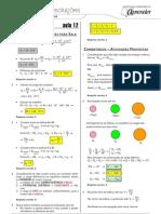 Física - Caderno de Resoluções - Apostila Volume 3 - Pré-Universitário - Física2 - Aula12