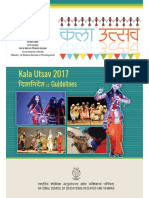 Kalautsav Guidelines 2017