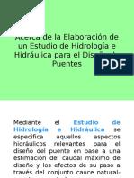 6 Puentes - Hidrologia e Hidraulica