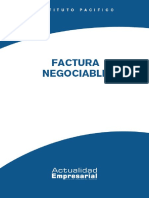 Factura negociable